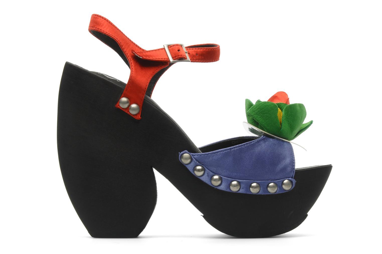 Sandales et nu-pieds Jeffrey Campbell CHITA Multicolore vue derrière