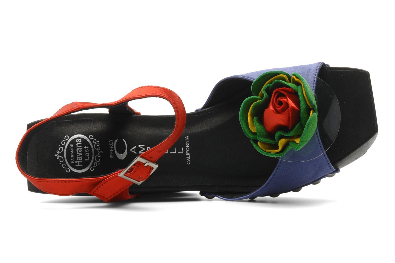 Sandales et nu-pieds Jeffrey Campbell CHITA Multicolore vue gauche