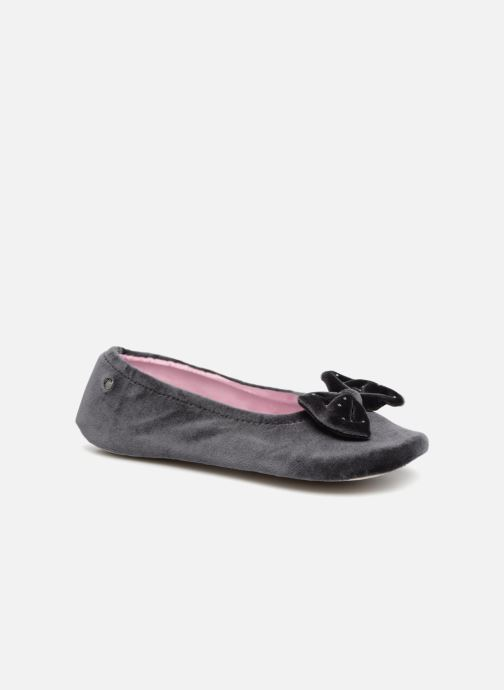 Ballerine velours grand nœud