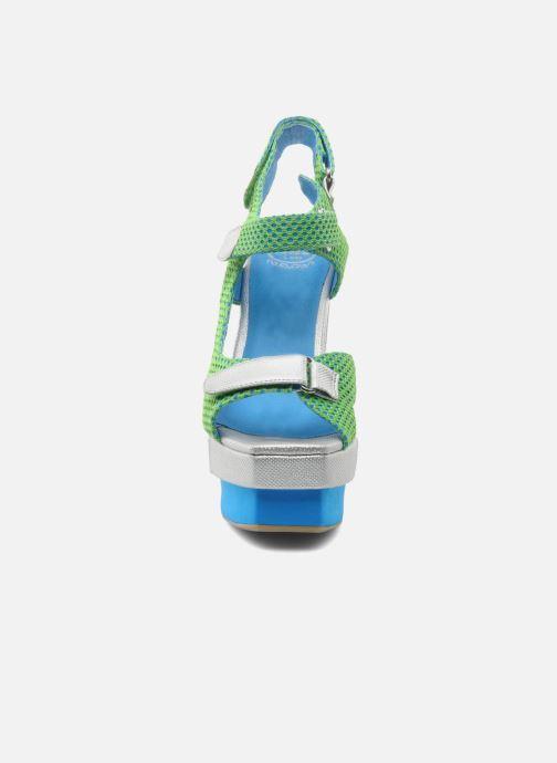 Sandales et nu-pieds Jeffrey Campbell FONDA Vert vue portées chaussures