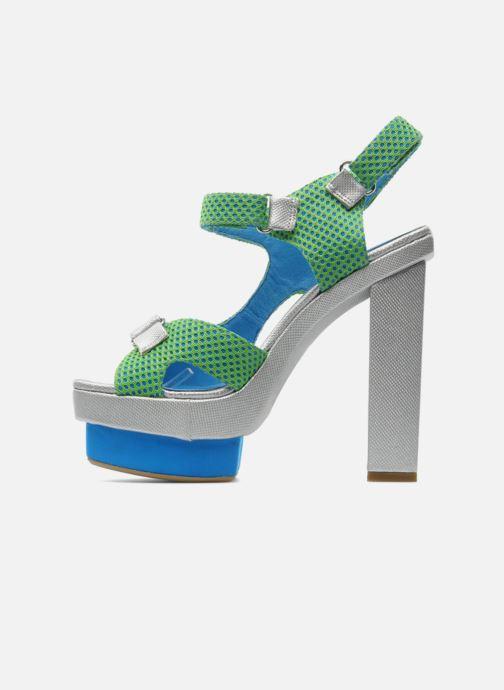 Sandales et nu-pieds Jeffrey Campbell FONDA Vert vue face