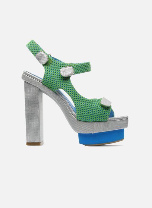 Sandales et nu-pieds Jeffrey Campbell FONDA Vert vue derrière