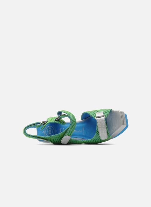 Sandales et nu-pieds Jeffrey Campbell FONDA Vert vue gauche