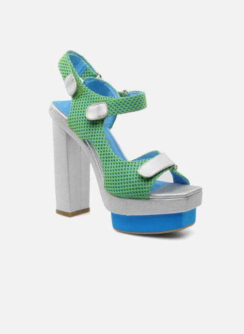 Sandales et nu-pieds Jeffrey Campbell FONDA Vert vue détail/paire