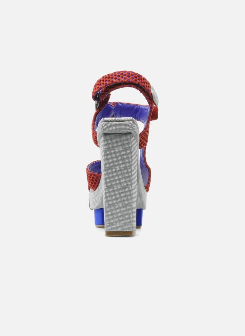 Sandales et nu-pieds Jeffrey Campbell FONDA Rouge vue droite