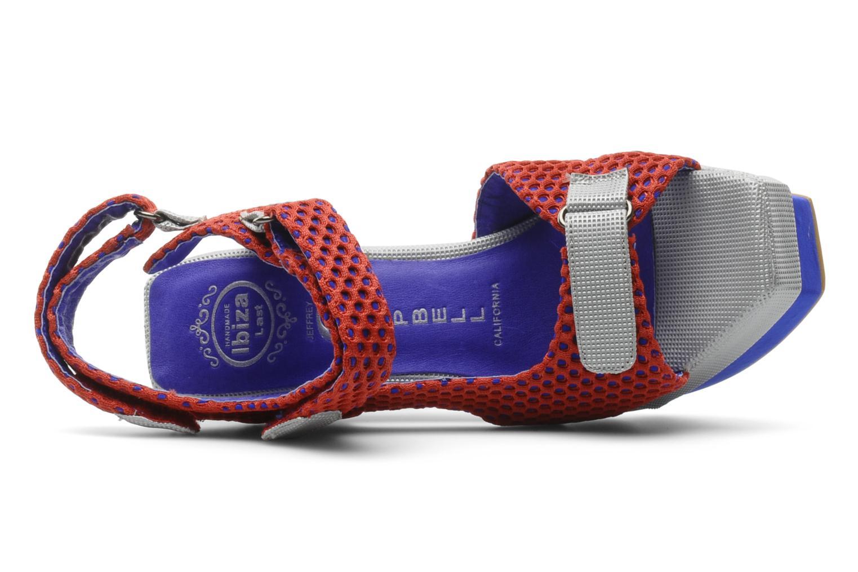 Sandales et nu-pieds Jeffrey Campbell FONDA Rouge vue gauche