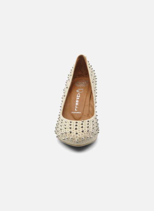 High heels Jeffrey Campbell LANE SPIKE Beige model view