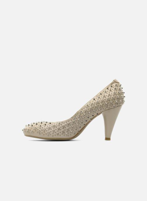 High heels Jeffrey Campbell LANE SPIKE Beige front view