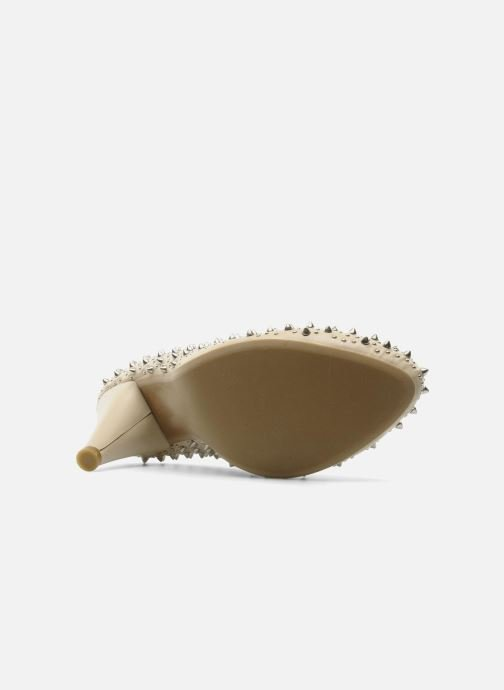 Escarpins Jeffrey Campbell LANE SPIKE Beige vue haut