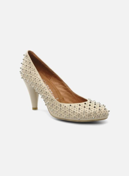Escarpins Jeffrey Campbell LANE SPIKE Beige vue détail/paire