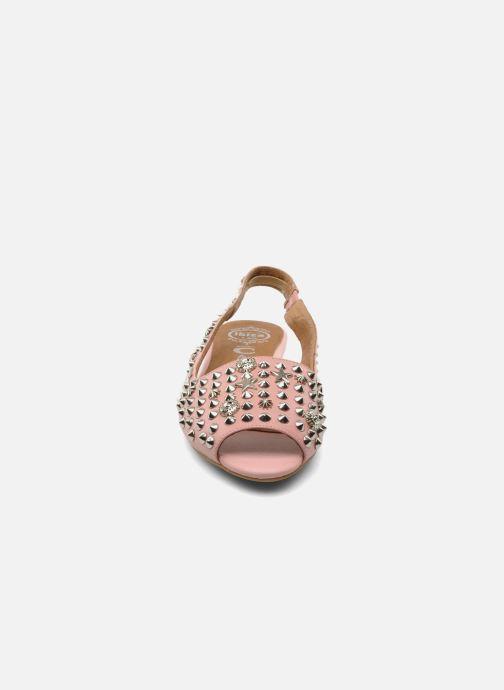 Sandales et nu-pieds Jeffrey Campbell SIDE NOTE Rose vue portées chaussures