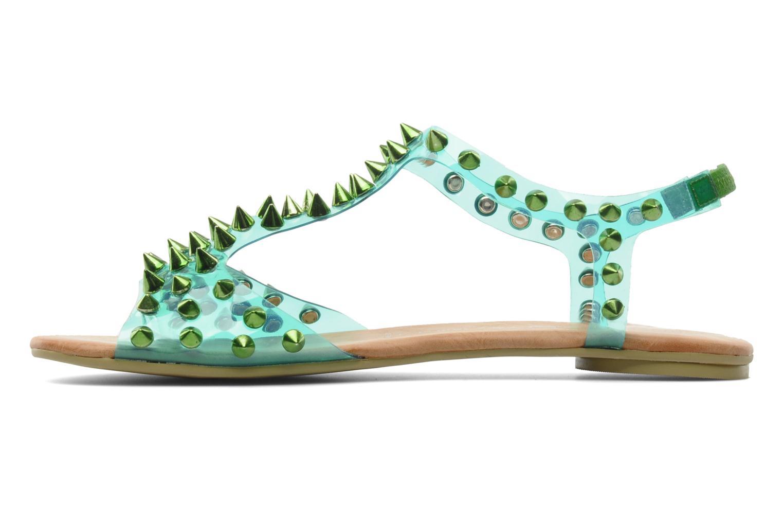 Sandales et nu-pieds Jeffrey Campbell PUFFER Vert vue face