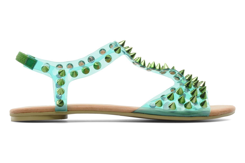 Sandales et nu-pieds Jeffrey Campbell PUFFER Vert vue derrière