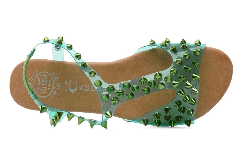 Sandales et nu-pieds Jeffrey Campbell PUFFER Vert vue gauche