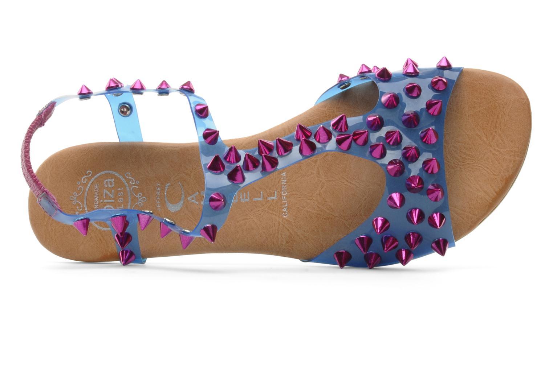 Sandales et nu-pieds Jeffrey Campbell PUFFER Bleu vue gauche