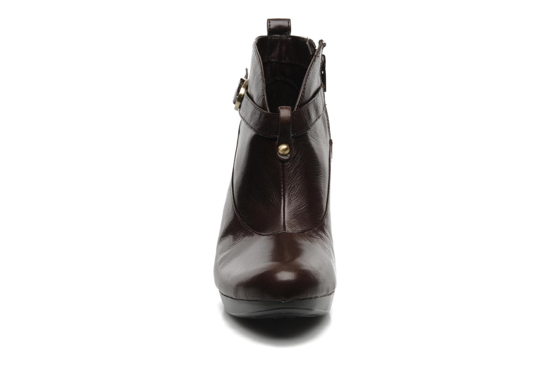 Bottines et boots Naturalizer ILEANA Marron vue portées chaussures