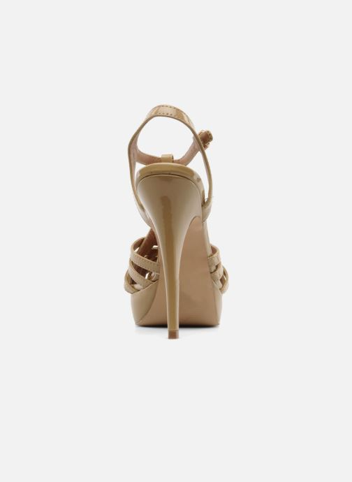 Sandals Steve Madden HALLELU Beige view from the right