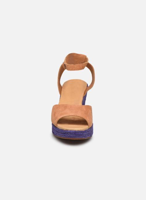 Sandales et nu-pieds Flipflop PINEAPPLE Beige vue portées chaussures