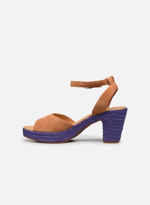 Sandales et nu-pieds Flipflop PINEAPPLE Beige vue face