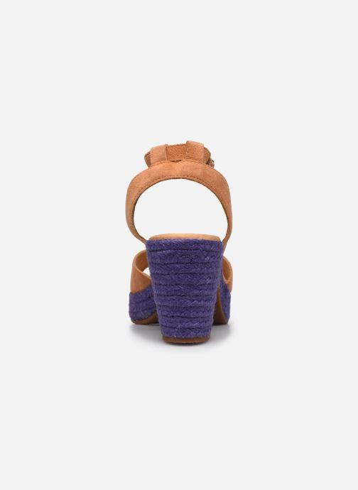 Sandales et nu-pieds Flipflop PINEAPPLE Beige vue droite