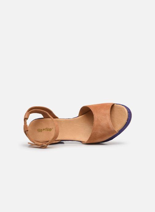Sandales et nu-pieds Flipflop PINEAPPLE Beige vue gauche