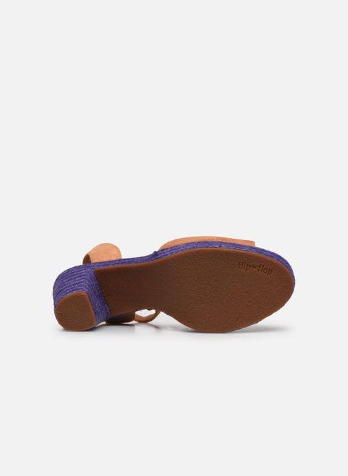 Sandales et nu-pieds Flipflop PINEAPPLE Beige vue haut