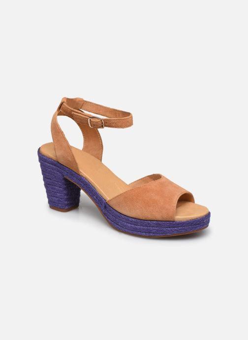 Sandales et nu-pieds Flipflop PINEAPPLE Beige vue détail/paire