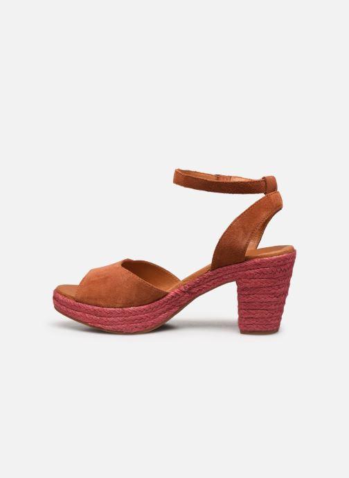 Sandales et nu-pieds Flipflop PINEAPPLE Orange vue face