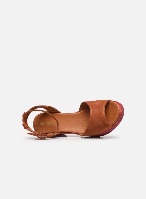 Sandales et nu-pieds Flipflop PINEAPPLE Orange vue gauche