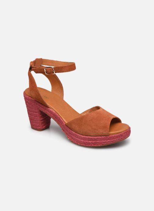 Sandales et nu-pieds Flipflop PINEAPPLE Orange vue détail/paire