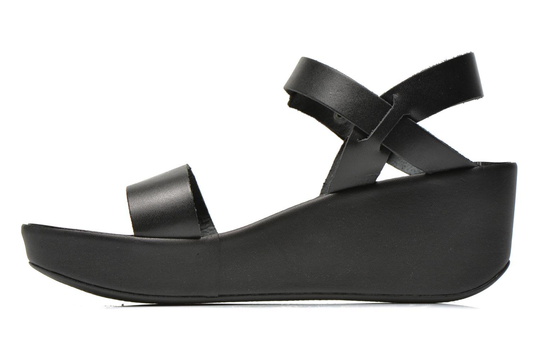 Sandales et nu-pieds Jonak Jocho Noir vue face