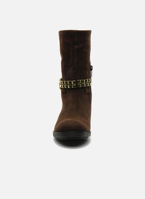 Bottines et boots Luciano Barachini Amla Marron vue portées chaussures
