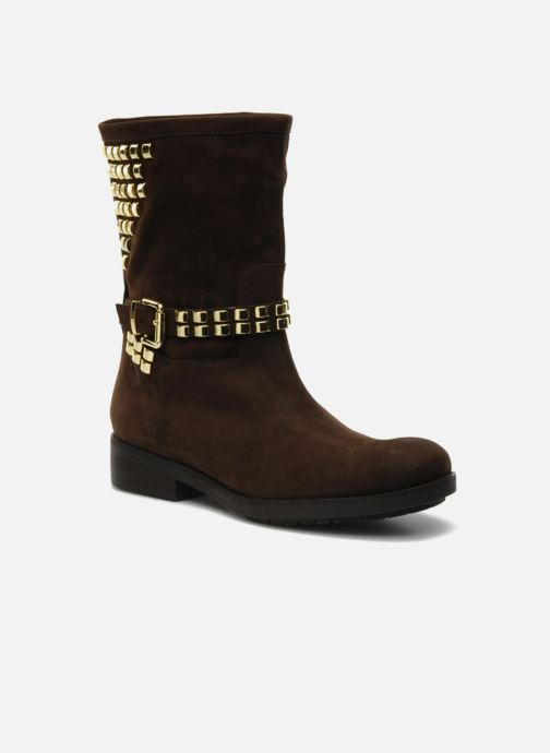 Bottines et boots Luciano Barachini Amla Marron vue détail/paire