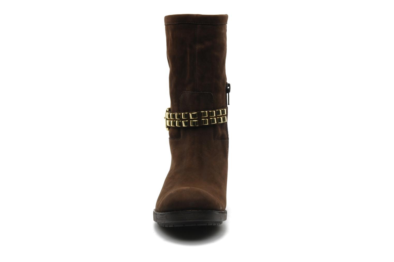 Stiefeletten & Boots Luciano Barachini Amla braun schuhe getragen