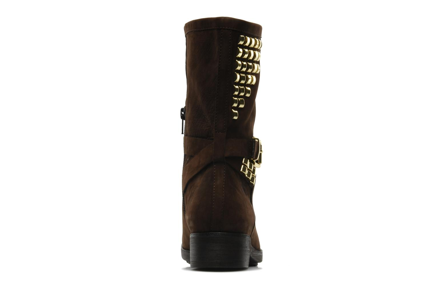 Ankle boots Luciano Barachini Amla Brown view from the right