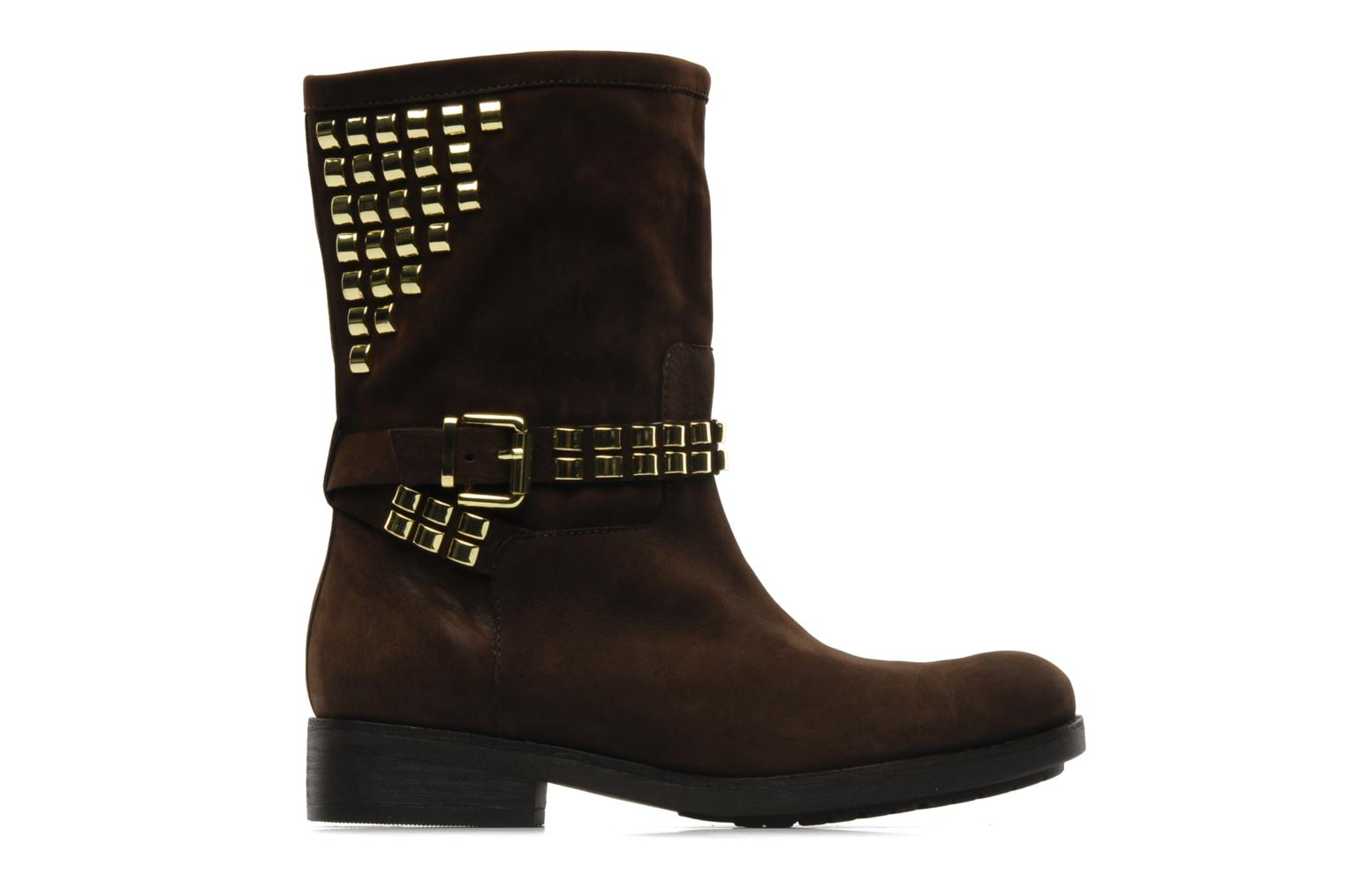 Ankle boots Luciano Barachini Amla Brown back view
