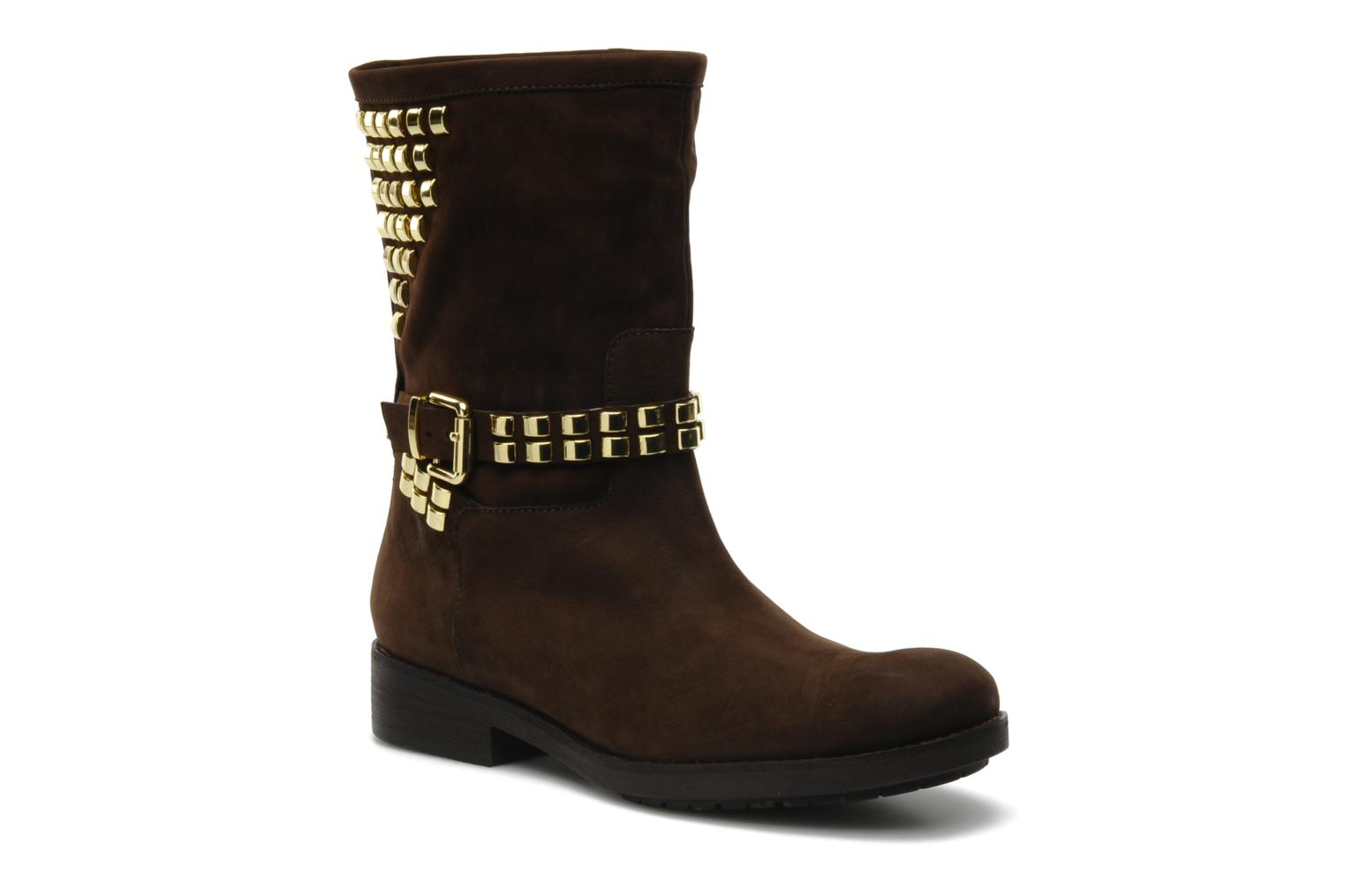 Ankle boots Luciano Barachini Amla Brown detailed view/ Pair view