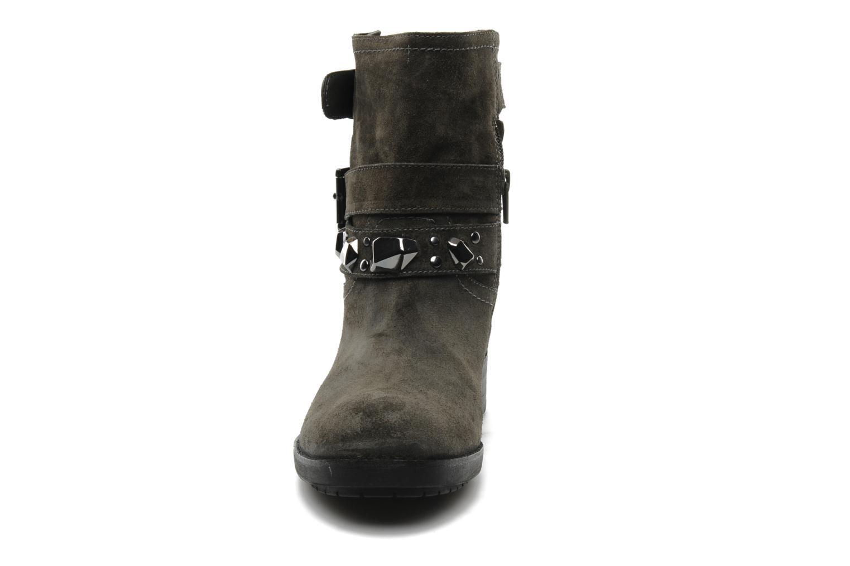 Bottines et boots Luciano Barachini Cary Gris vue portées chaussures