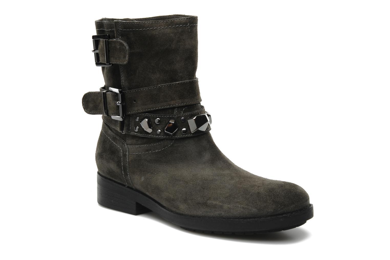 Bottines et boots Luciano Barachini Cary Gris vue détail/paire