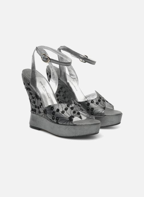 Sandales et nu-pieds Terry de Havilland LIZZY LACE Argent vue 3/4