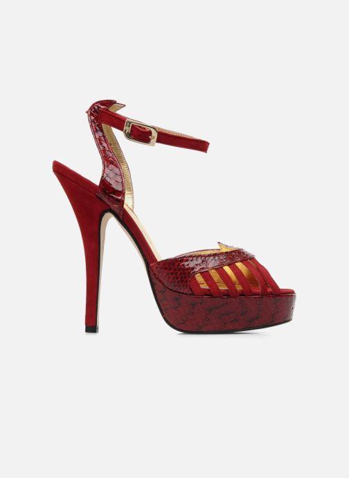 Sandales et nu-pieds Terry de Havilland MARGUERITE SNAKE Rouge vue derrière