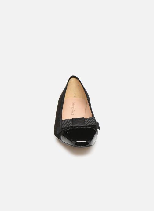 Ballerines Georgia Rose Sergia Noir vue portées chaussures