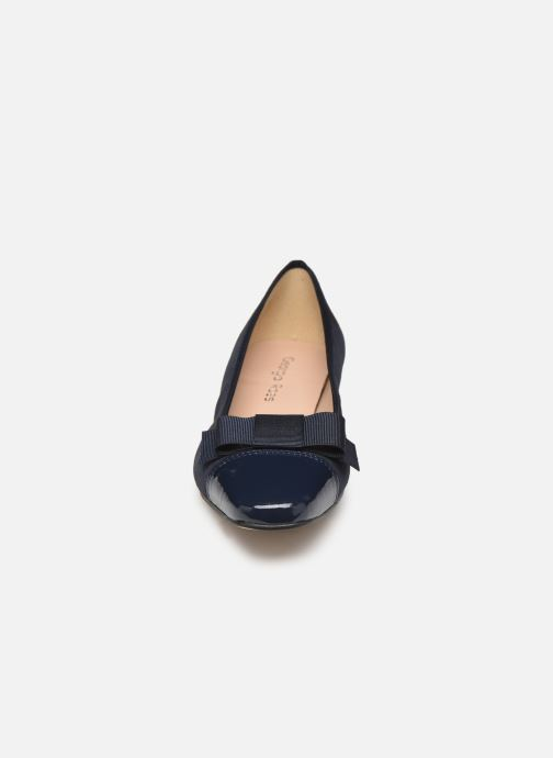 Ballerines Georgia Rose Sergia Bleu vue portées chaussures