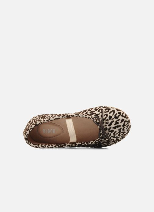 Bailarinas Bloch toddler arabella animal Beige vista lateral izquierda