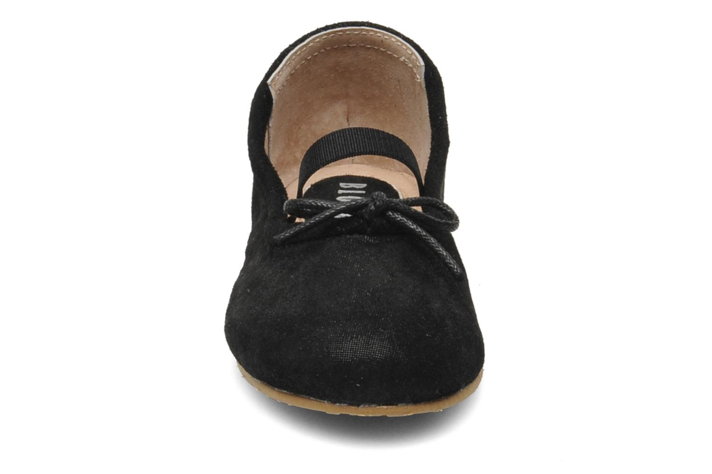 Ballerines Bloch Toddler Sirenetta Noir vue portées chaussures
