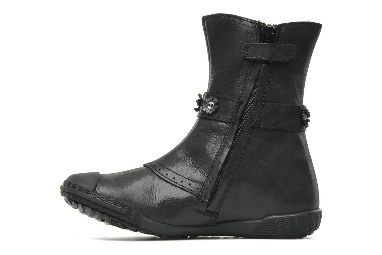 Stiefel Mod8 Karnabi schwarz ansicht von vorne