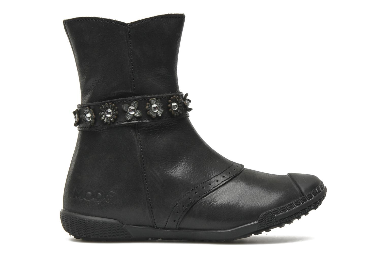 Stiefel Mod8 Karnabi schwarz ansicht von hinten