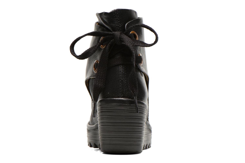 Bottines et boots Fly London Yama Noir vue droite