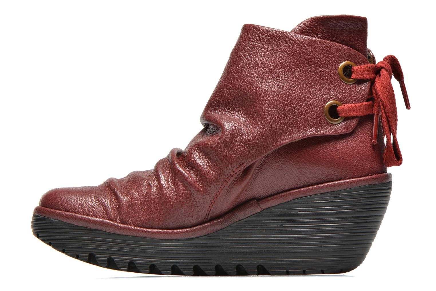 Ankle boots Fly London Yama Red front view