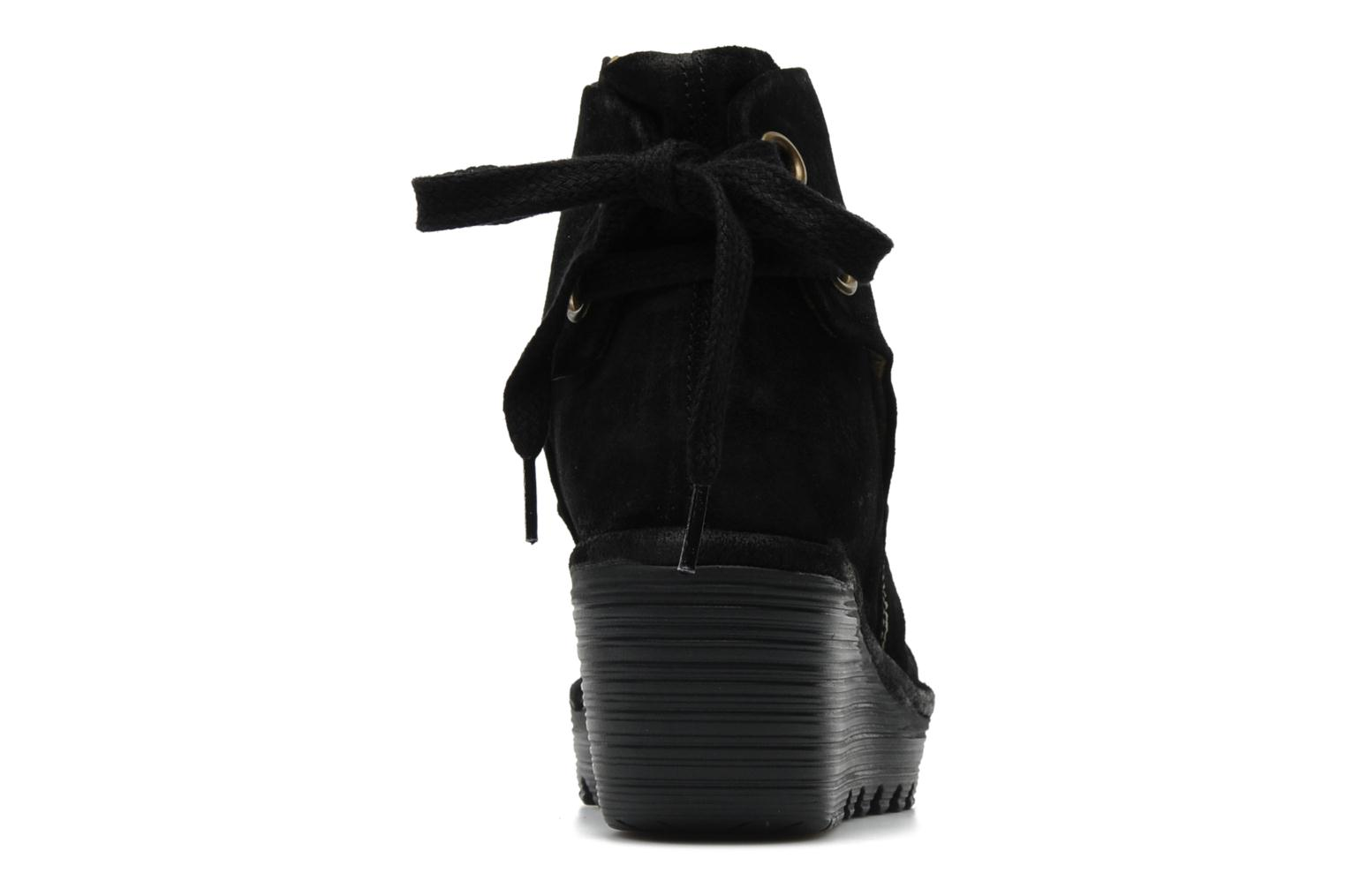 Ankle boots Fly London Yama Black view from the right
